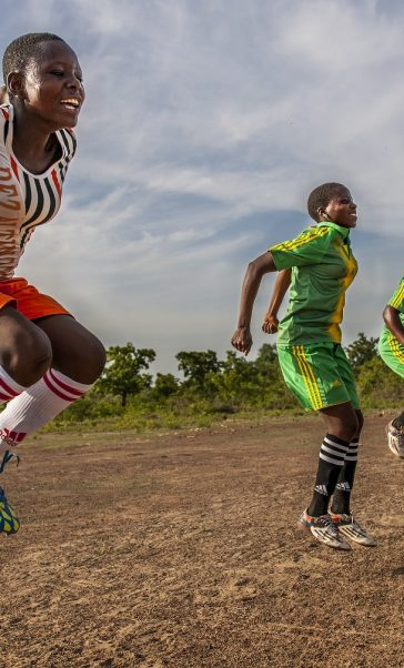 Championnes: football for gender equality in Africa