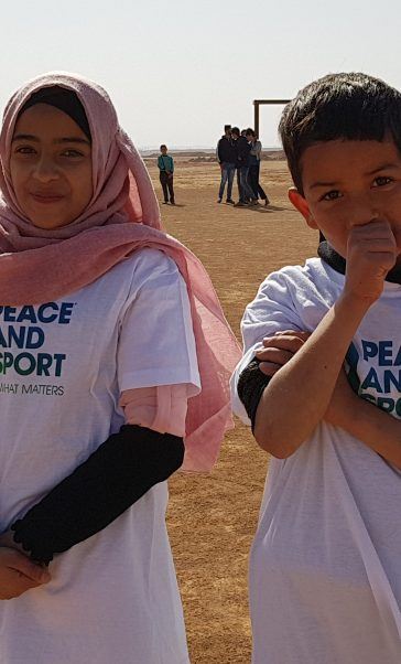 Peace & Sport célèbre le 6 Avril !