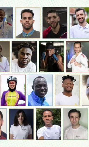 L'équipe olympique de réfugiés se prépare pour les JO de Tokyo